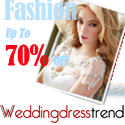 fashion wedding dresses discount sale on www.weddingdresstrend.com