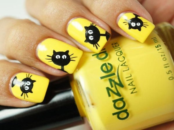 yellow-nails-10