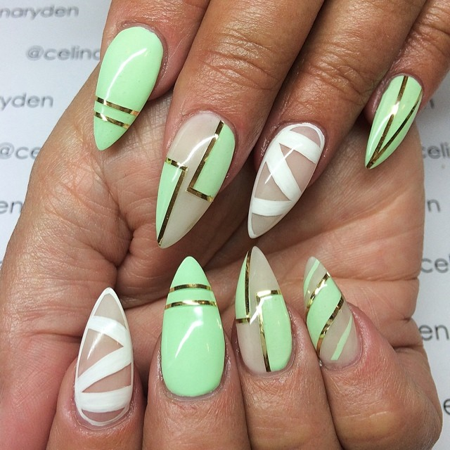 18 Fascinating Nail Designs To Copy This Spring