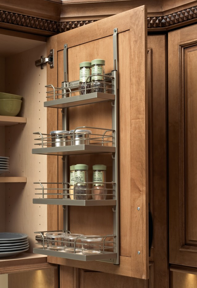Kitchen Pantry Door Spice Rack
