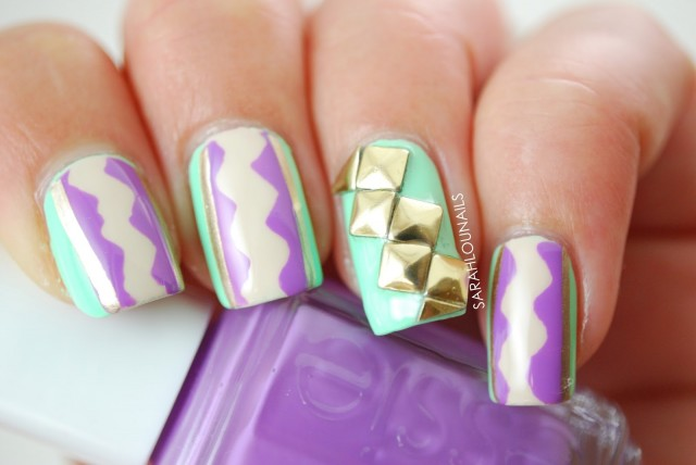 Cool-pastel-nails-art