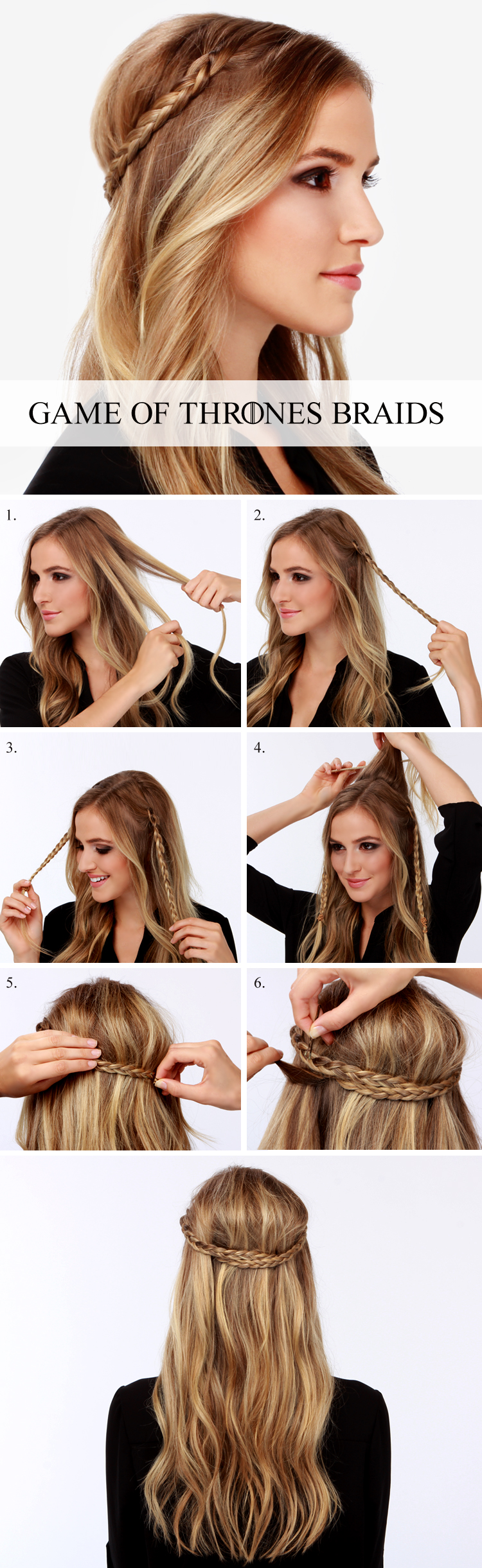 16 Stupendous Step by Step Hairstyle Tutorials