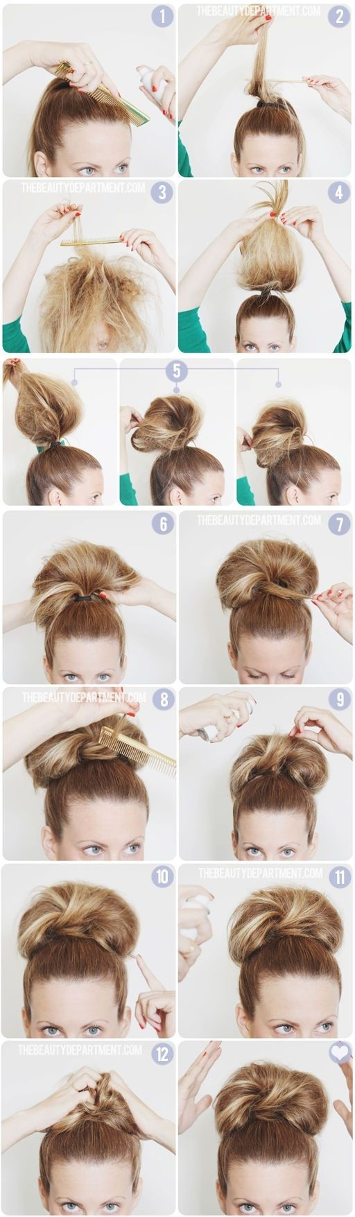 Giant-Bun-Tutorial-Easy-High-Bun-Updos