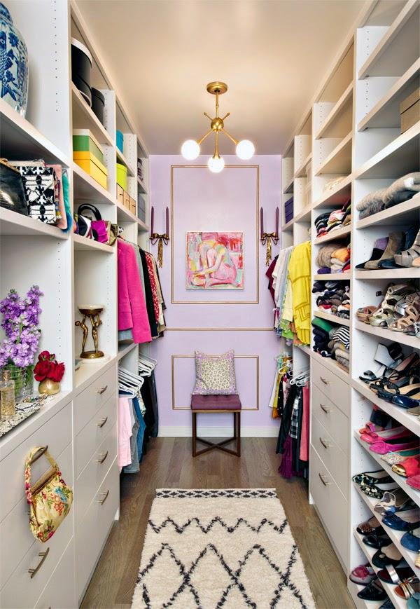 22 Fabulous Walk In Closet Designs