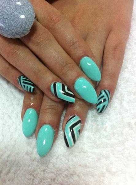 17 Mint Nails You Are Going To Love