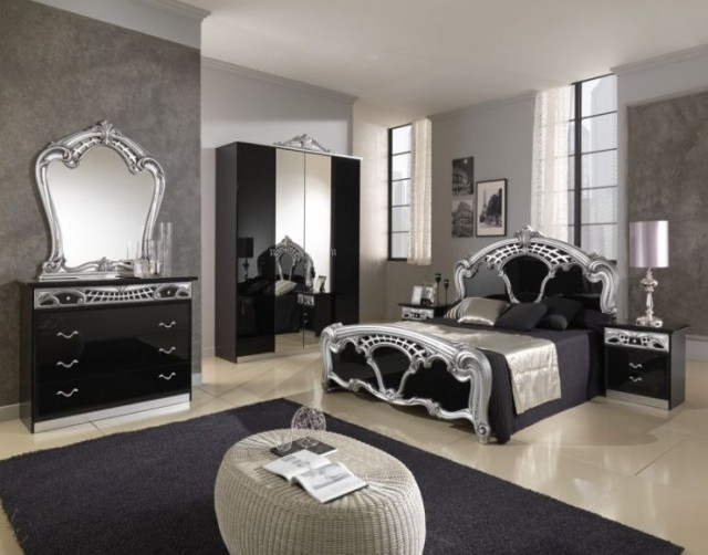 Silver-Mirrored-Bedroom-Furniture