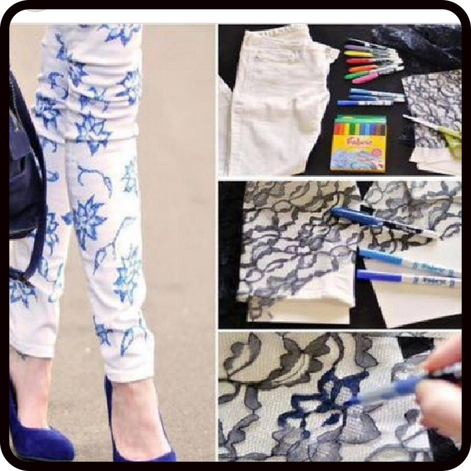 Amazing DIY Jeans Ideas