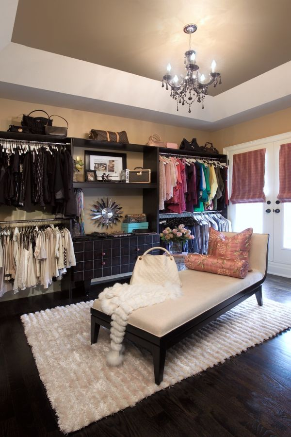 22 Fabulous Walk-In Closet Designs