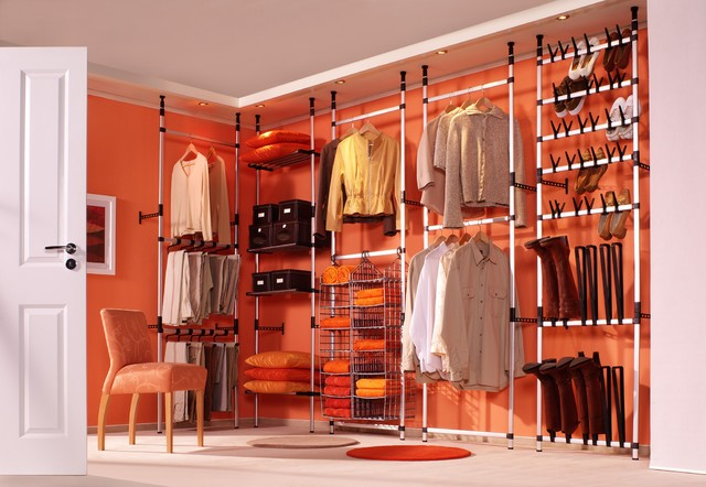 20 clever ideas to expand your closet space for Organizing ideas for closets