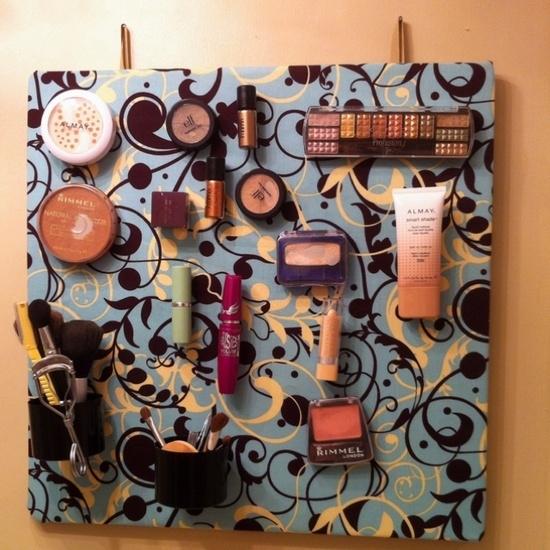 Fantastic DIY Makeup Organizers