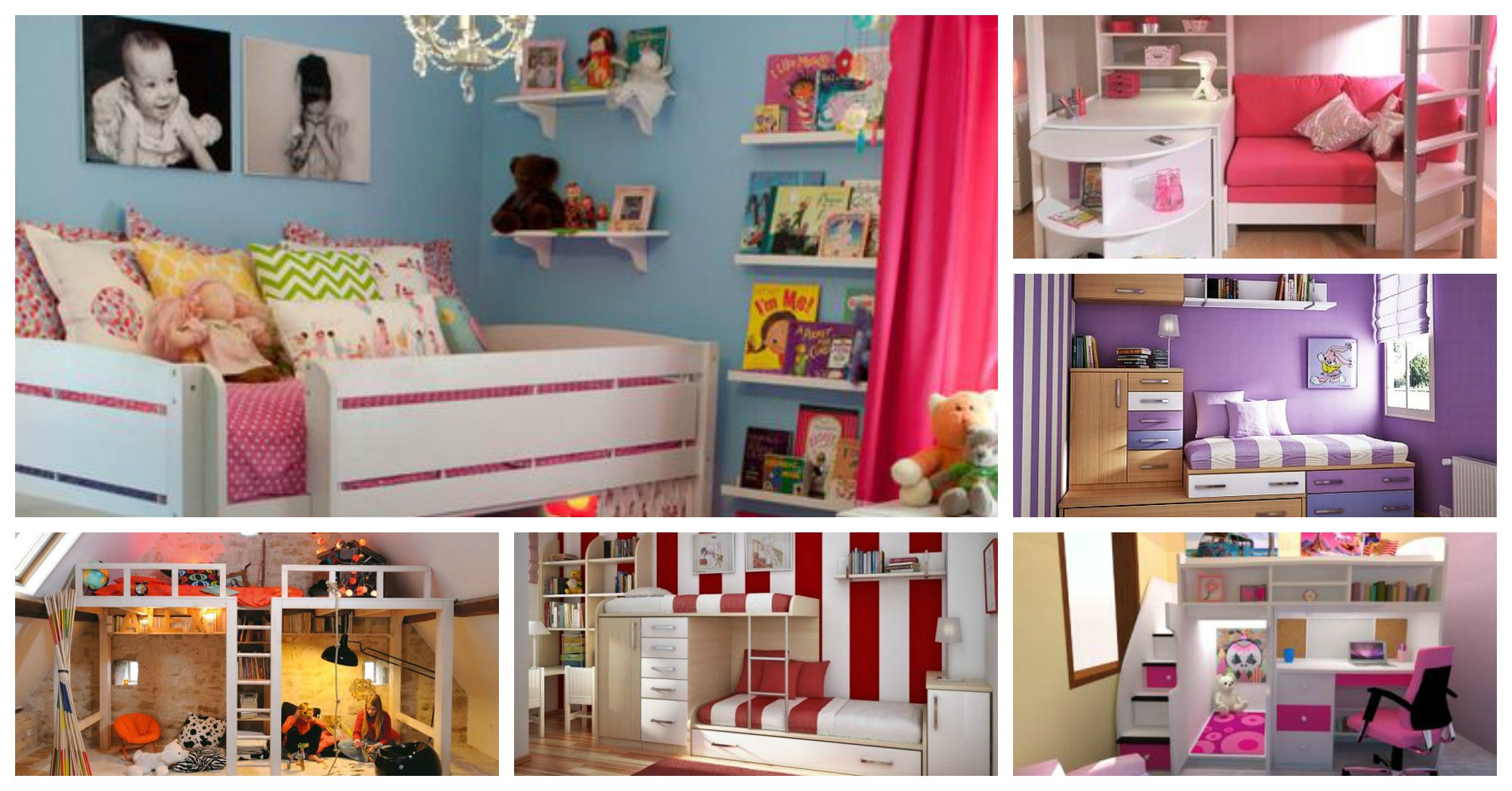 21 Space-Saving Solutions for Tiny Kids Rooms