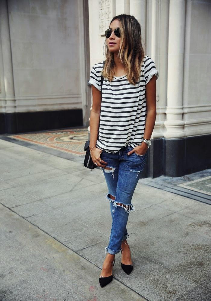 15 Street Style Combos With Jeans