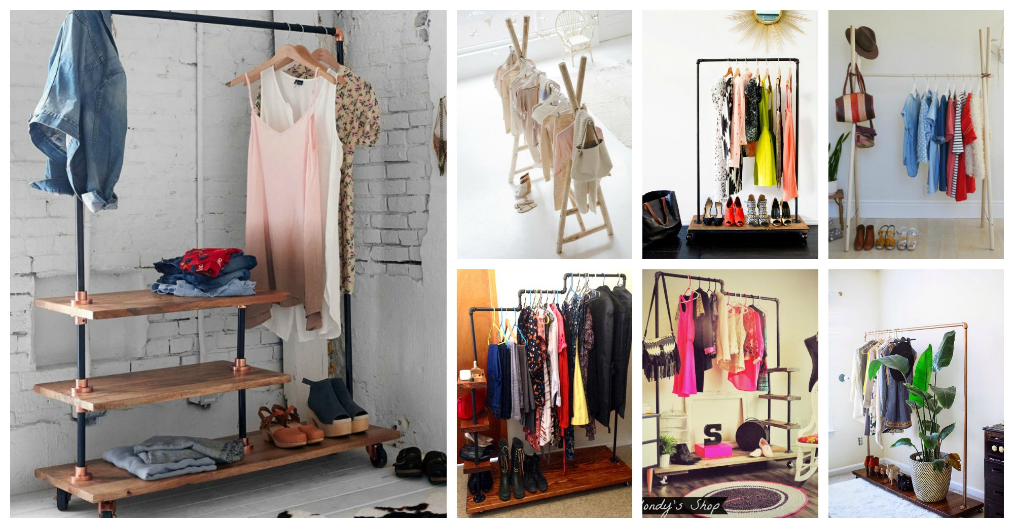 26 Amazing Clothing Racks