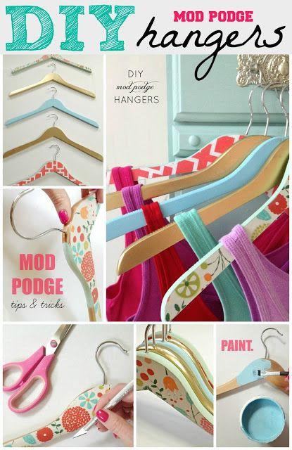 15 Interesting DIY Hanger Tutorials