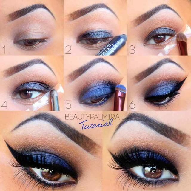 Best-Smokey-Eye-Makeup-Tutorials-for-Winter-Season009
