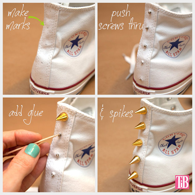 Useful shoes diy ideas to try styles weekly for Easy diy arts and crafts