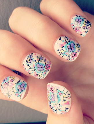 20 Fascinating Floral Nail Designs for Spring and Summer | Styles ...