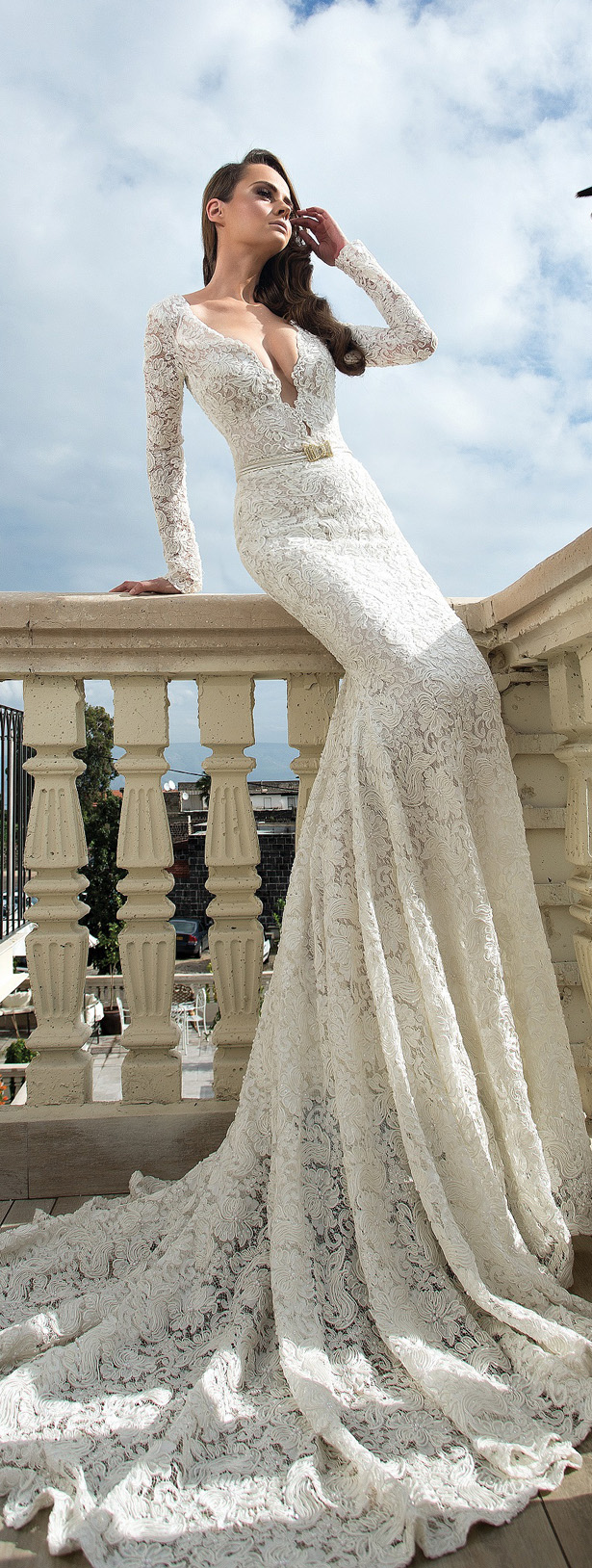 Gorgeous haute couture 2015 wedding dresses by shabi israel for Haute couture wedding dresses