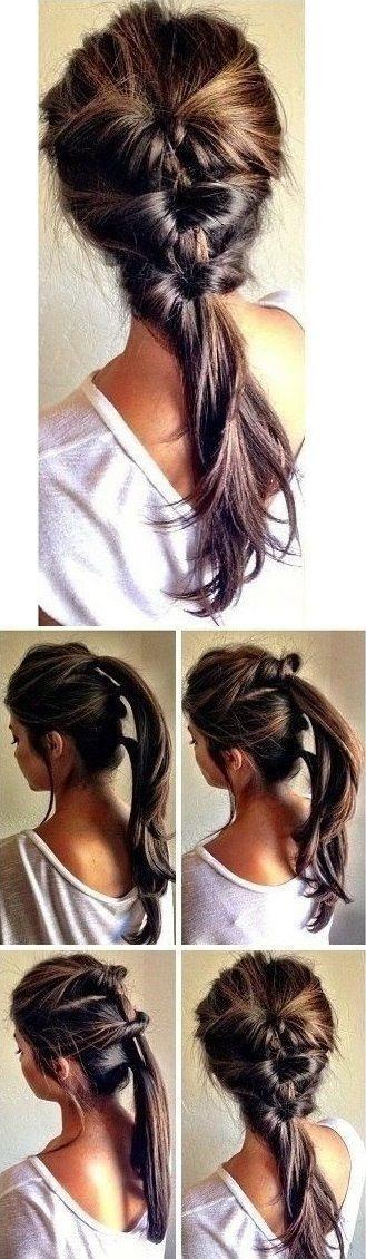 Pleasing 16 Super Easy Hairstyle Tutorials To Try Now Short Hairstyles Gunalazisus