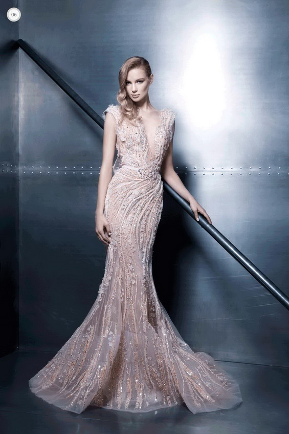 "Ziad Nakad Shows Off His Collection for 2015 Called ""Elegance Vibes"""