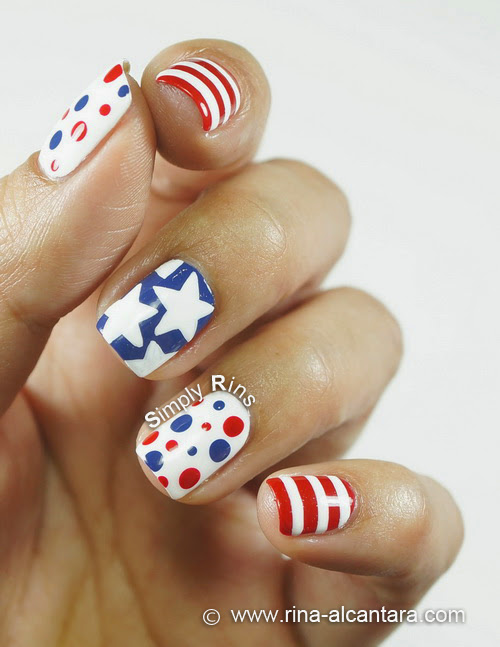Manicure Ideas for 4th of July