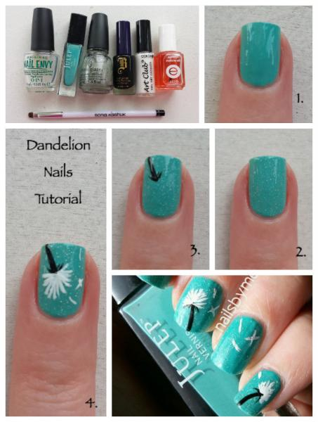 Dandelion-Nails