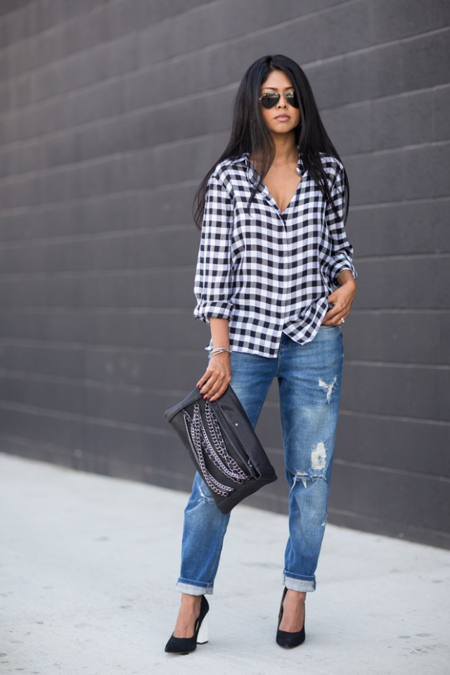Gingham_Shirt_Boyfriendjeans_AshWorldwide_handbags_Blockheeled_Pumps_CheckeredShirt_Trend_Gingham_Style-3