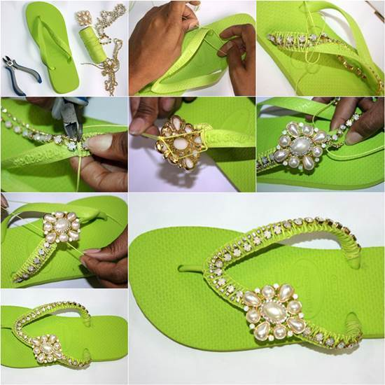How-to-DIY-Nice-Decorated-Flip-Flops