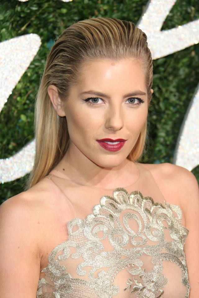 LONDON, ENGLAND - DECEMBER 01:  Mollie King attends the British Fashion Awards at London Coliseum on December 1, 2014 in London, England.  (Photo by Mike Marsland/WireImage)