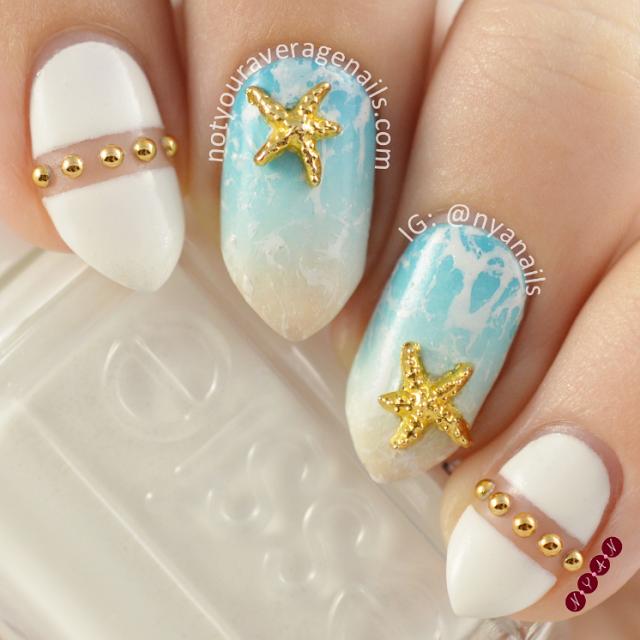 beach nails 6
