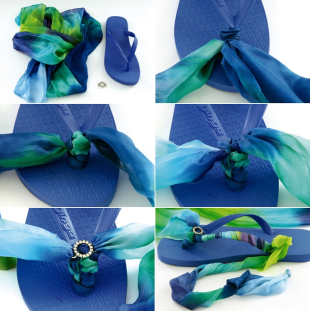 diy-summer-sandals-gradiator-roman-design-blue-scarf