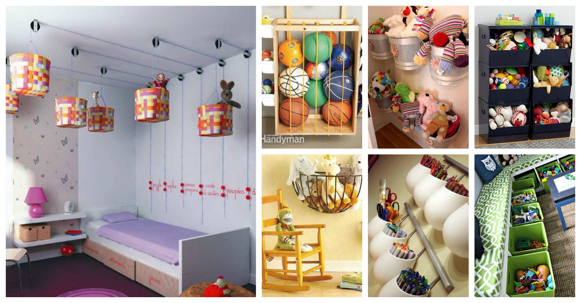 18 Clever Storage and Organization Solutions for Any Kid's Room