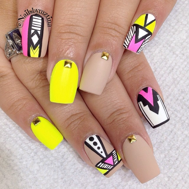 20 Eye-Catching Neon Nail Designs to Try This Summer
