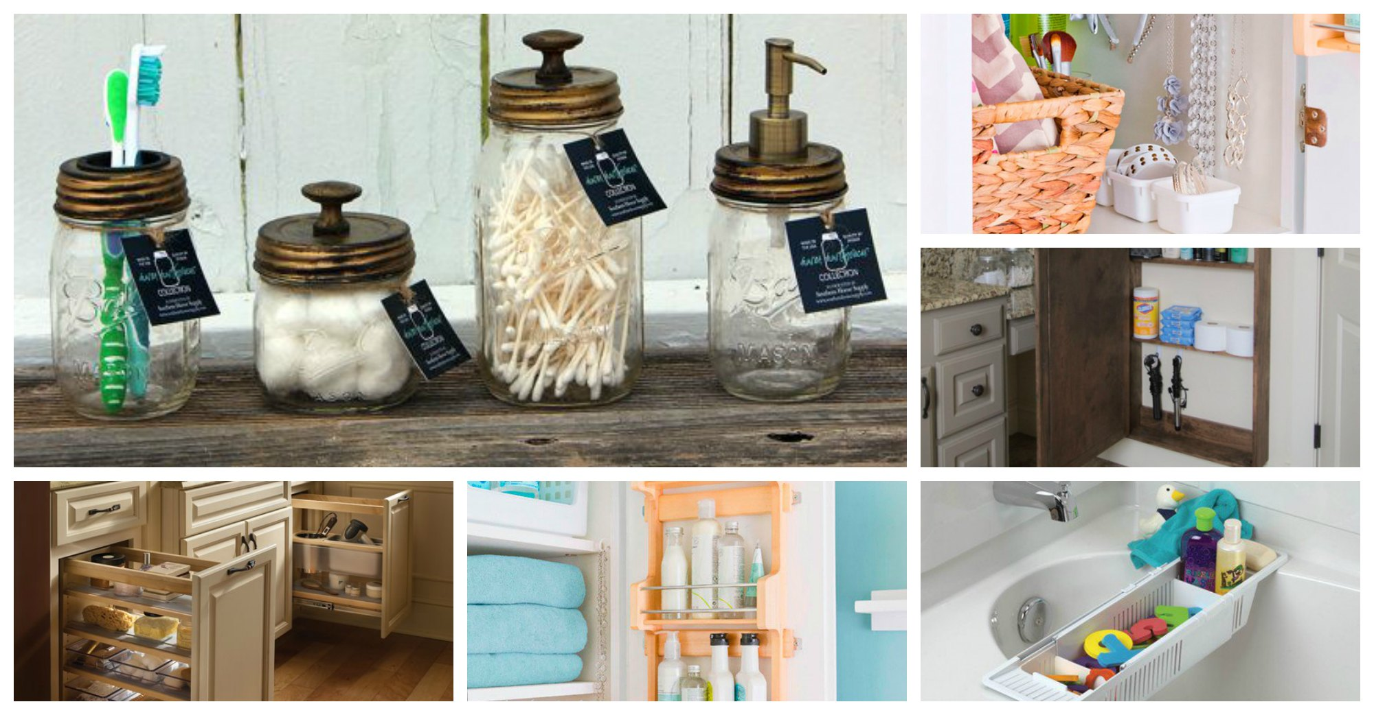 21 Clever Bathroom Storage Ideas