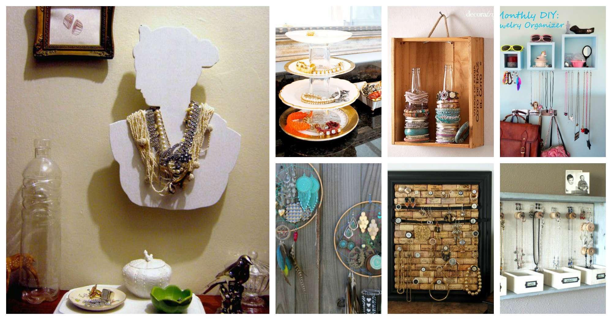 17 Amazing DIY Jewelry Holders