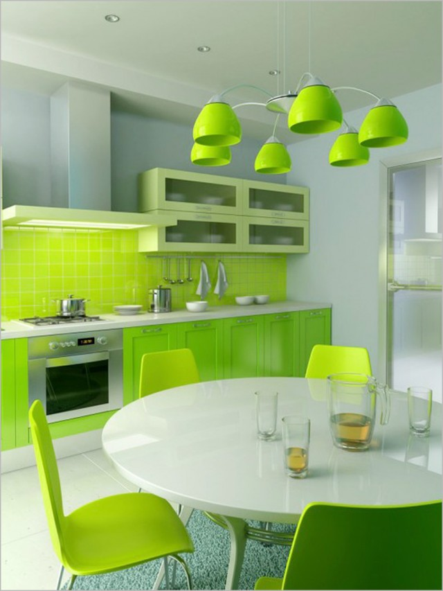 Colorful-Kitchen-Design-Ideas-bright-lime-ktichen