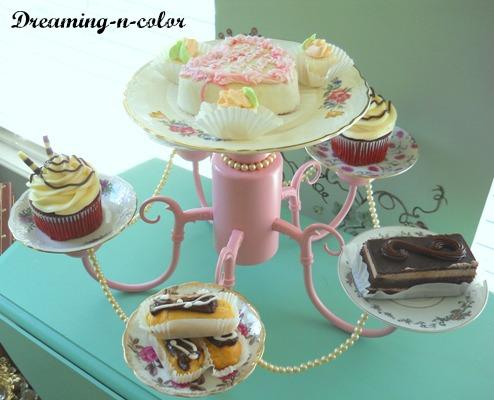 dessert chandelier