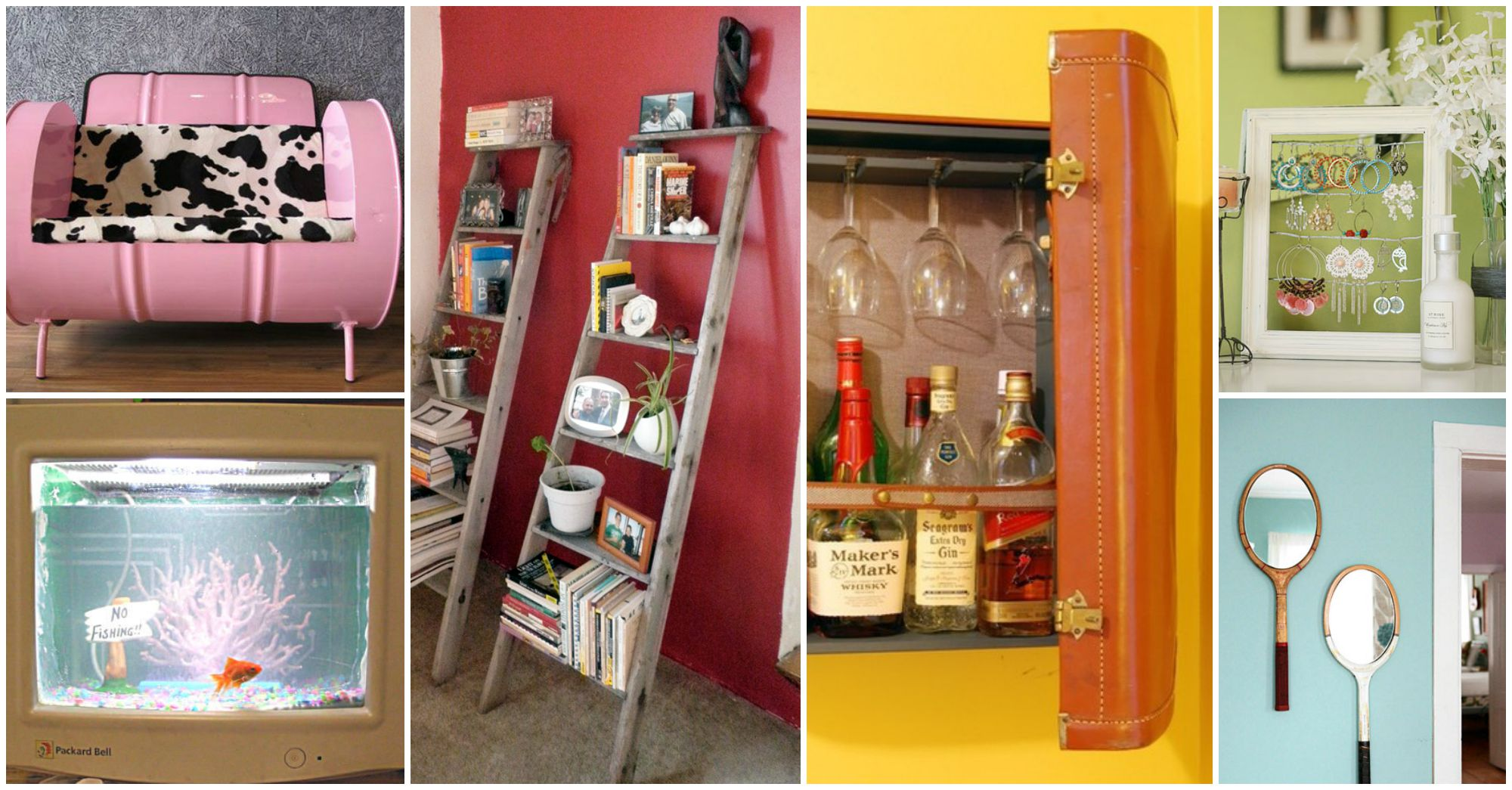 18 Awesome Ways to Repurpose the Broken Household Items