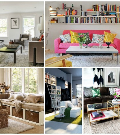 space saving living rooms