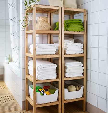 Cool 24 Bathroom Shelves Designs  Bathroom Designs  Design Trends
