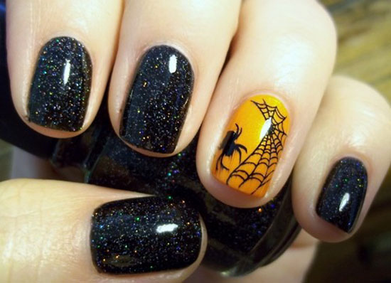 Hype-Hair-Halloween-Nails-Spiderweb