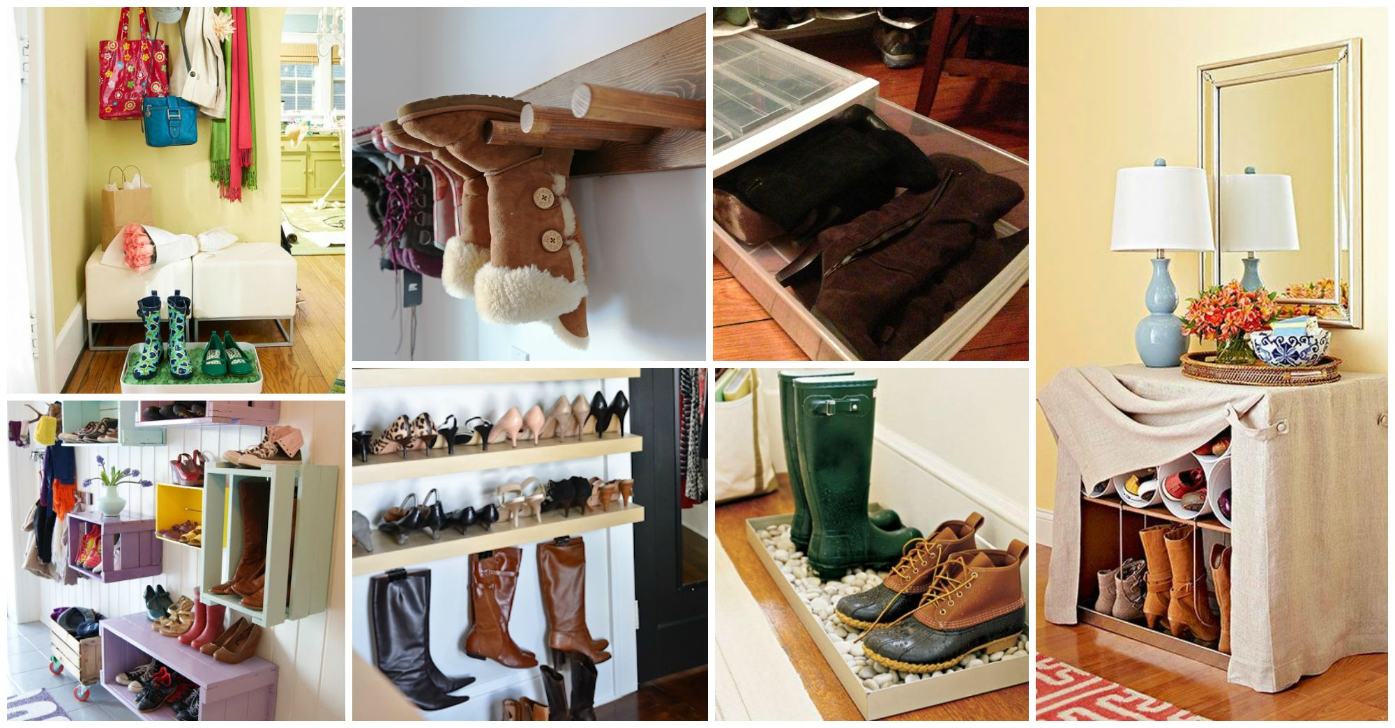 27 Awesome Storage Ideas For Your Fall – Winter Footwear