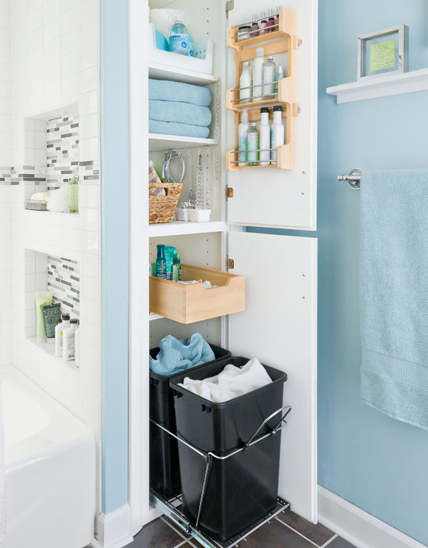 how to increase storage in your bathroom in affordable way
