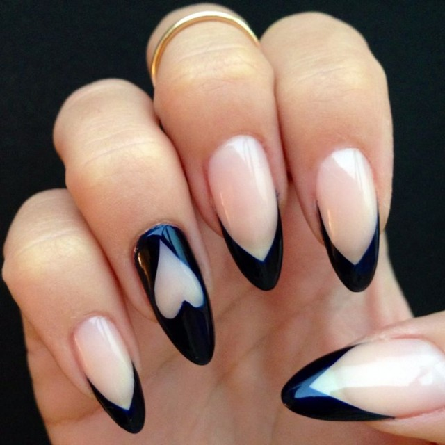 nails-negative space