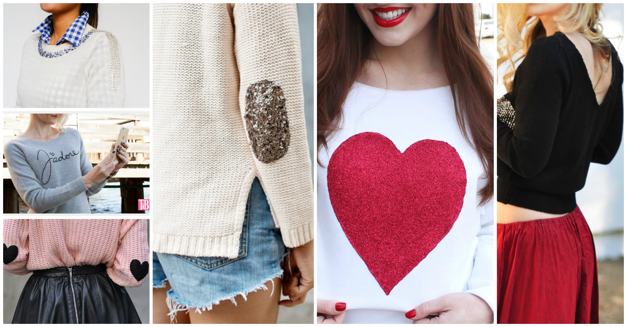 18 Fabulous DIY Sweater Ideas to Beautify Your Old Sweaters