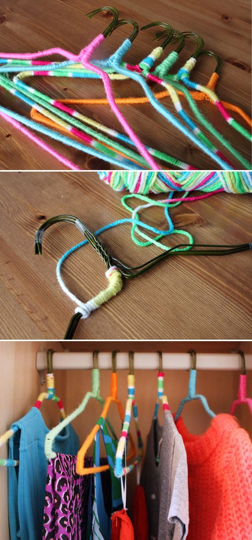 diy hanger idea