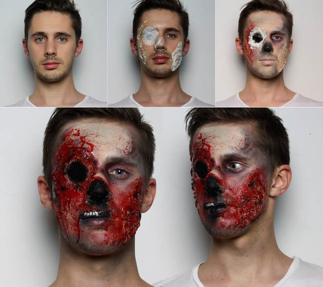 Horrifying Makeup Tutorials to Take Your Halloween Costume to the ...
