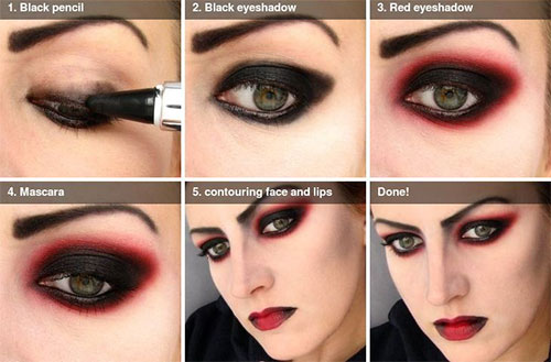 Horrifying Makeup Tutorials to Take Your Halloween Costume ...
