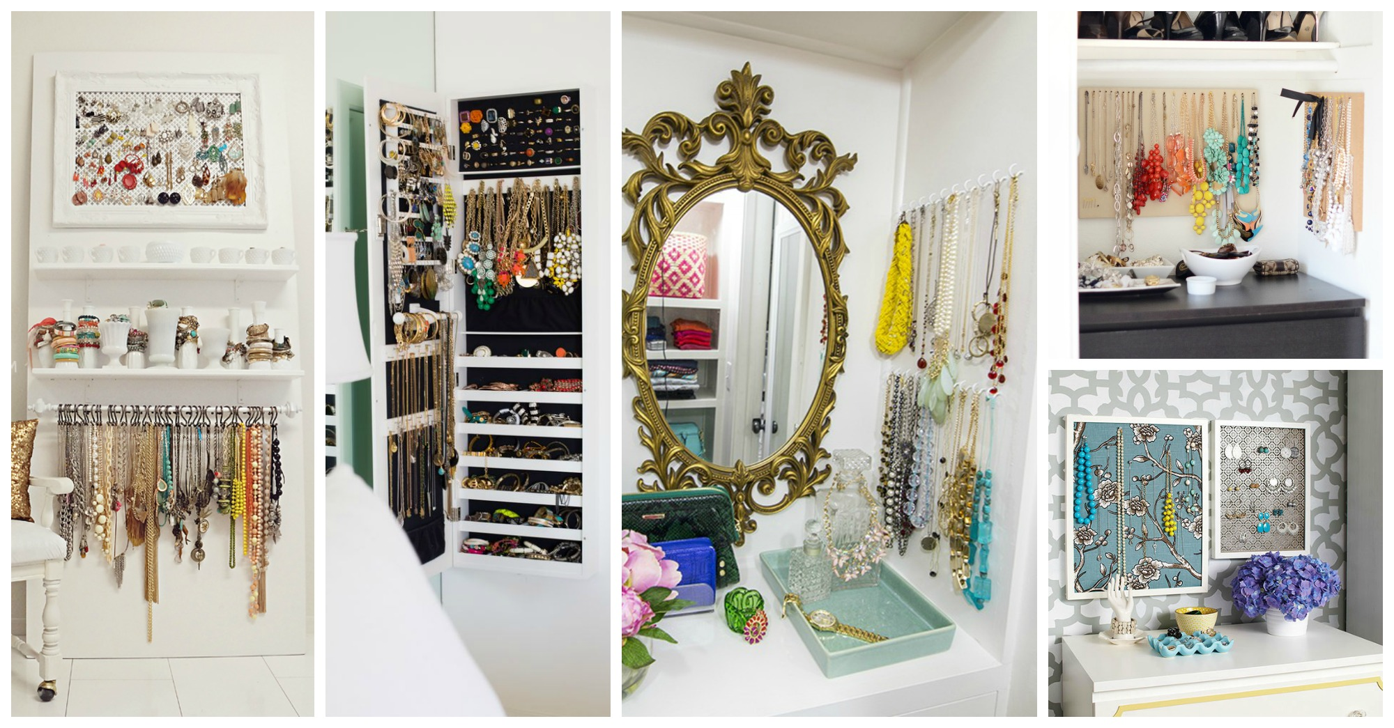 10 Astonishing Jewelry Storage Ideas to Decorate Your Bedroom