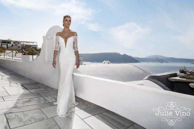 """Santorini"" Bridal Collection By Julie Vino"